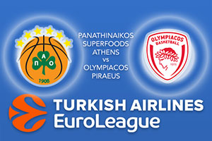 Panathinaikos Superfoods Athens v Olympiacos Piraeus - Euroleague Betting Tips