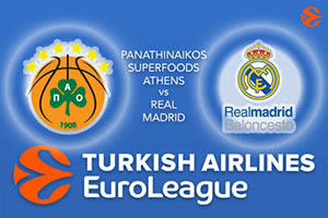 Panathinaikos Superfoods Athens v Real Madrid