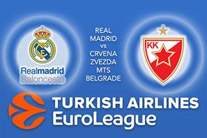 Real Madrid v Crvena Zvezda MTS Belgrade