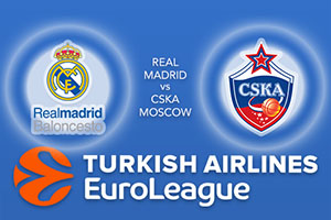 Real Madrid v CSKA Moscow