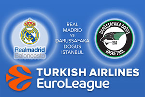 Real Madrid v Darussafaka Dogus Istanbul