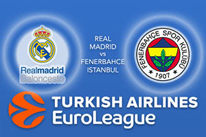 Real Madrid v Fenerbahce Istanbul