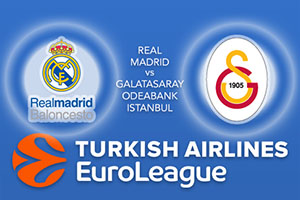 Euroleague Predictions – Real Madrid v Galatasaray Odeabank Istanbul