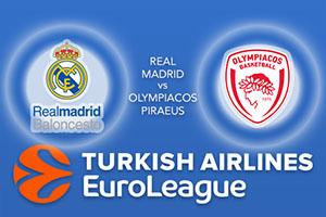 Euroleague Predictions - Real Madrid v Olympiacos Piraeus