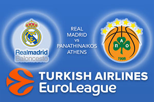 Real Madrid v Panathinaikos Superfoods Athens - Euroleague Betting Tips