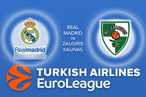 Real Madrid v Zalgiris Kaunas
