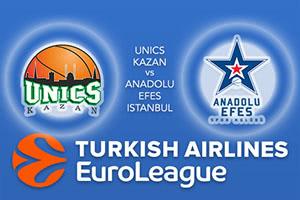 Unics Kazan v Anadolu Efes Istanbul