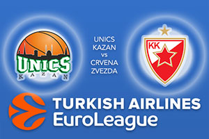 Unics Kazan v Crvena Zvezda - Euroleague Betting Tips