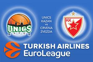 Unics Kazan v Crvena Zvezda - Euroleague Betting Tips