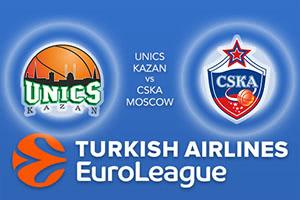 Unics Kazan v CSKA Moscow