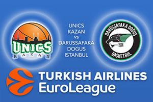 Euroleague Predictions – UNICS Kazan v Darussafaka Dogus Istanbul