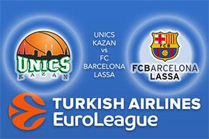 Euroleague Predictions - Unics Kazan v FC Barcelona Lassa