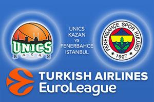 Unics Kazan v Fenerbahce Istanbul