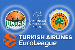 Unics Kazan v Panathinaikos Superfoods Athens