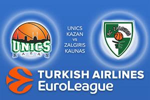 Unics Kazan v Zalgiris Kaunas