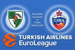 Zalgiris Kaunas v CSKA Moscow