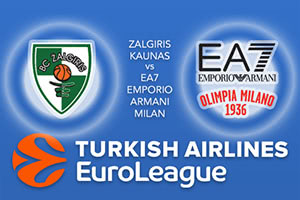 Zalgiris Kaunas v EA7 Emporio Armani Milan