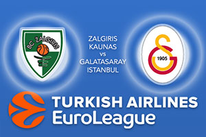Zalgiris Kaunas v Galatasaray Odeabank Istanbul - Euroleague Betting Tips