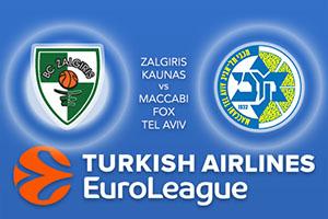 Euroleague Predictions – Zalgiris Kaunas v Maccabi Fox Tel Aviv