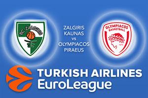 Zalgiris Kaunas v Olympiacos Piraeus