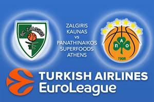 Zalgiris Kaunas v Panathinaikos Superfoods Athens
