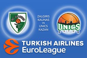 Zalgiris Kaunas v Unics Kazan