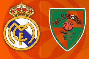 Euroleague Round One - Real Madrid v Zalgiris Betting Tips