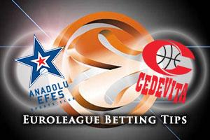 Anadolu Efes Istanbul v Cedevita Zagreb Betting Tips