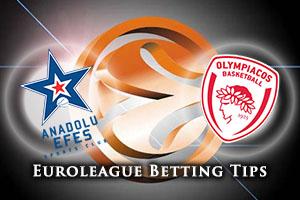 Anadolu Efes Istanbul v Olympiacos Piraeus Betting Tips