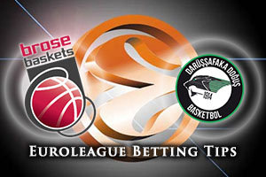 Brose Baskets Bamberg v Darussafaka Dogus Istanbul Betting Tips