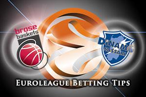 Brose Baskets Bamberg v Dinamo Banco di Sardegna Sassari Betting Tips