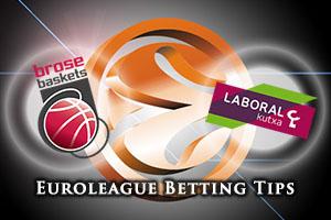 Brose Baskets Bamberg v Laboral Kutxa Vitoria Gasteiz Betting Tips