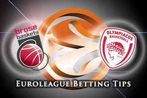Brose Baskets Bamberg v Olympiacos Piraeus Betting Tips