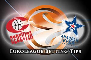 Cedevita Zagreb v Anadolu Efes Istanbul Betting Tips
