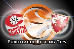 Cedevita Zagreb v Crvena Zvezda Telekom Belgrade Betting Tips