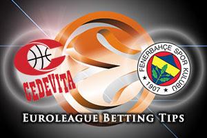 Cedevita Zagreb v Fenerbahce Istanbul Betting Tips
