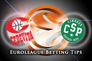 Cedevita Zagreb v Limoges CSP Betting Tips