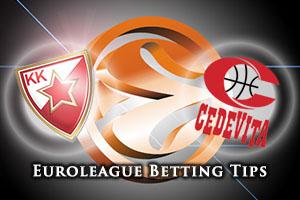 Crvena Zvezda Telekom Belgrade v Cedevita Zagreb Betting Tips
