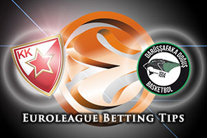 Crvena Zvezda Telekom Belgrade v Darussafaka Dogus Istanbul Betting Tips