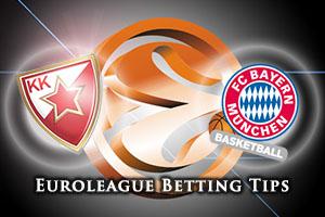 Crvena Zvezda Telekom Belgrade v FC Bayern Munich Betting Tips
