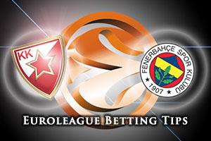 Crvena Zvezda Telekom Belgrade v Fenerbahce Istanbul Betting Tips