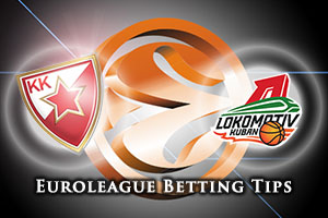 Crvena Zvezda Telekom Belgrade v Lokomotiv Kuban Krasnodar Betting Tips