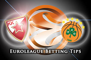 Crvena Zvezda Telekom Belgrade v Panathinaikos Athens Betting Tips