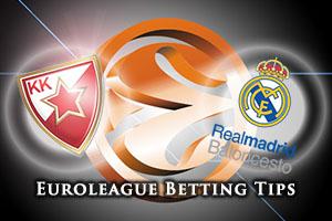 Crvena Zvezda Telekom Belgrade v Real Madrid Betting Tips