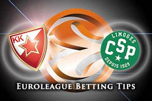 Crvena Zvezda Telekom Belgrade v Strasbourg Betting Tips
