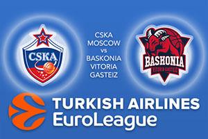 CSKA Moscow v Baskonia Vitoria Gasteiz