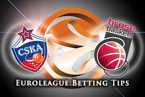 CSKA Moscow v Brose Baskets Bamberg Betting Tips
