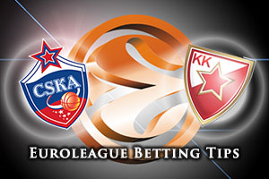 CSKA Moscow v Crvena Zvezda Telekom Belgrade Betting Tips