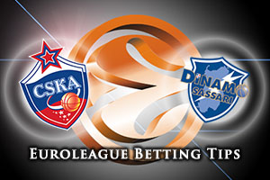 CSKA Moscow v Dinamo Banco di Sardegna Sassari Betting Tips