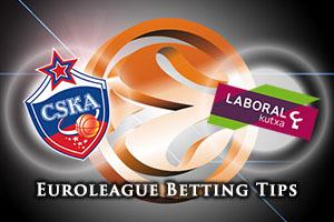 CSKA Moscow v Laboral Kutxa Vitoria Gasteiz Betting Tips